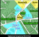 Spot Zoning Map