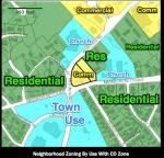 Spot Zoning Map
